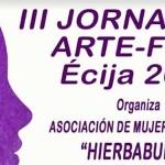 III Jornadas ARTE-FEM, Écija 2019