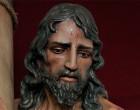 Imagen de Ntro. Padre Jesús de la Salud en su Flagelación realizada por el escultor de Écija, Jesús Richarte, para la ciudad de Cangas