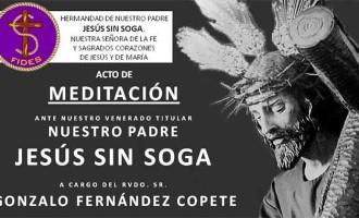 Acto de meditación ante Nuestro Padre Jesús Sin Soga de Écija