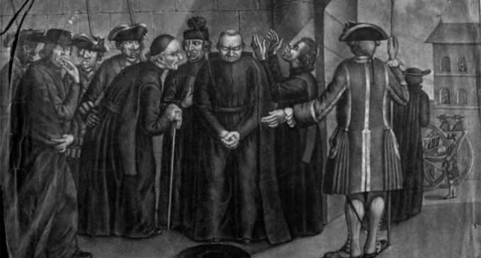EL JESUITA ECIJANO TOMAS BORREGO GONZALEZ, AUTOR DE LA POLEMICA Y FAMOSA OBRA HISTORIA UNIVERSAL SACRO PROFANA, QUE FINALIZÓ EN EL AÑO DE 1786, PROHIBIENDOSE SU PUBLICACION por Ramón Freire