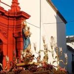 Se celebró en Écija la Procesión de María Auxiliadora con una gran asistencia de personas (Imágenes: Videos de Arte Rafael)