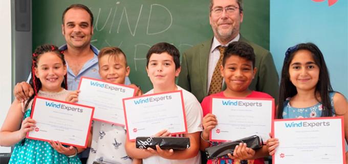 El Colegio de El Valle, de Écija, gana el Primer Premio del concurso de Energías Renovables: Wind Expert de EDPR