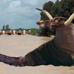 Así pudo ser la criatura desconocida que fue vista en 1955 en el río Genil de Écija