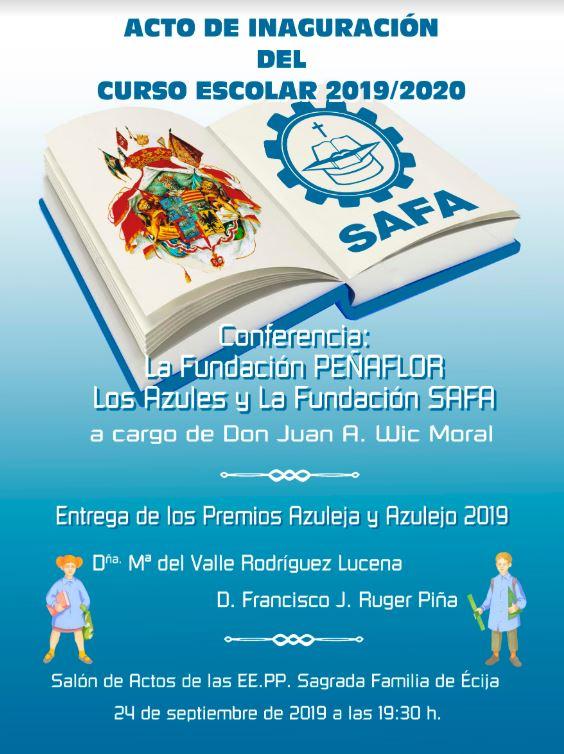 cartel inauguracion curso
