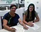 La Asociación de Mujeres de Écija Hierbabuena,  firma un acuerdo de colaboración con Lucena Acoge.