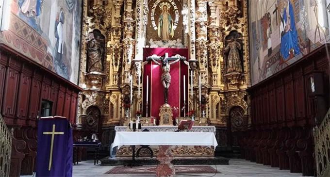 """""""V Exaltación a la Vera + Cruz"""" en la Iglesia de San Francisco de Écija"""