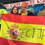 Antonio Giménez Boceta, un ecijano que llevó a Écija por bandera en el partido de España contra Noruega en Oslo