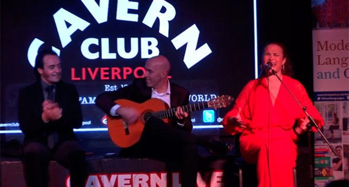 Resumen de los mejores momentos del concierto en The Cavern Club de los Beatles, donde actuó la artista de Écija Esperanza León (video)