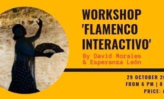 """Continúan las actuaciones Taller / Workshop: """"Flamenco Interactivo"""" en Liverpool con David Morales y Esperanza León de Écija (video)"""