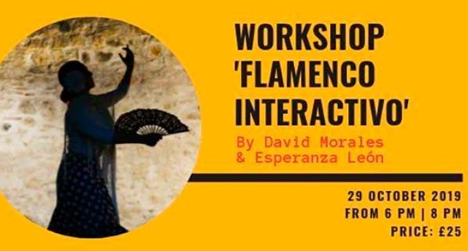 "Continúan las actuaciones Taller / Workshop: ""Flamenco Interactivo"" en Liverpool con David Morales y Esperanza León de Écija (video)"