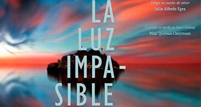 """Presentación en Écija de la Antología """"La luz impasible"""" por Manuel Gahete y José Sarria"""