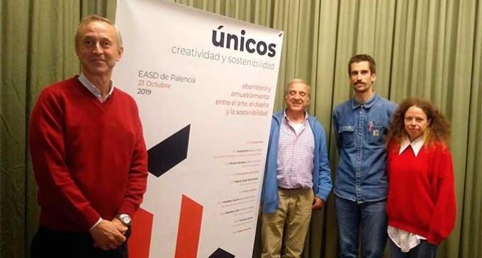 """Écija presente en la Escuela de Arte de Palencia en la jornada """"Únicos en Ebanistería y Amueblamiento"""""""