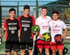 El jugador de pádel de Écija, Pepe Aliaga, se proclama Campeón de España por Equipo en la categoría Junior