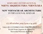 Los ecijanos Miguel Angel Balmaseda y Fernando Martín Sanjuán intervienen en el Seminario Internacional Nueva Arquitectura Vernácula de Madrid