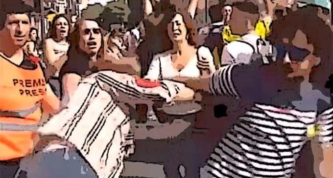 LA DAMA DE LA  BANDERA por Francisco J. Fernández-Pro