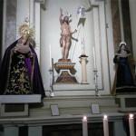 La Hermandad del Resucitado de Écija celebró la misa por los hermanos difuntos y por Antonio J. Dubé de Luque autor de su Titular, la Virgen de la Alegría