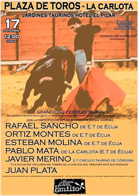 cartel-toros-la-carlota