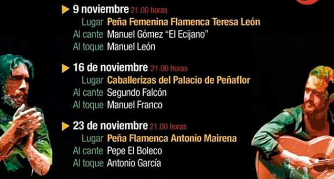 Circuito Flamenco Ecijano por las Peñas de Écija
