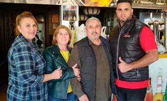 Recogida de Alimentos de la Hermandad del Resucitado de Écija en la Concentración Motera Tmax-Sevilla