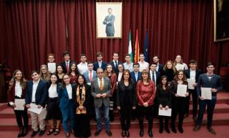 Video de los Premios a las mejores notas de Admisión a la Universidad en el Curso 2019/2020, entre los que se encuentran dos alumnos de Écija