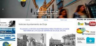 NOTICIA 28 DE DICIEMBRE: El Ayuntamiento de Écija pone en su web cómo quedará la nueva Plaza del Salón después de la reforma que se va a realizar