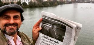 """Se presenta en Sevilla el nuevo trabajo """"Jesucristo Vive"""" que opta a los Goya 2020, del Director de Cine Francisco Campos, muy vinculado con nuestra ciudad de Écija"""