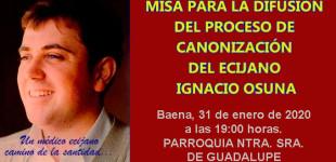 Acto Litúrgico en Baena Pro-Beatificación del médico de Écija, Ignacio Osuna
