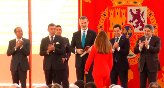 Premiados dos antiguos alumnos del IES San Fulgencio de Écija en los Premios Taurinos y Universitarios de la Real Maestranza de Caballería de Sevilla