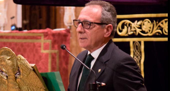 Magnífica Exaltación de la Saeta realizada por el flamencólogo de Écija, Manuel Martín Martín, en el 425 Aniversario de la Hermanda de la Macarena de Sevilla