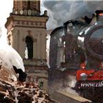 MIS SIETE CORTOS RELATOS (I) – LA CIGÜEÑA Y EL TREN por Ramón Freire Gálvez