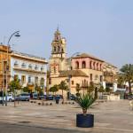La Plaza de España de Écija se cerrará al tráfico, durante las tardes, a partir del lunes