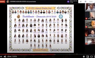 Histórica Videograduación Virtual de las Escuelas Profesionales SA.FA. de Écija (video)