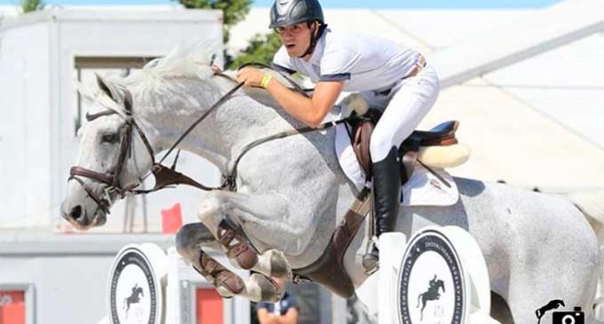 El jinete de Écija, José Carlos García Herrainz triunfa en el Vilamoura Equestrian Centre de Portugal
