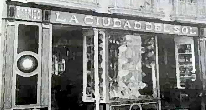 COMERCIOS ECIJANOS ANTIGUOS por Juan Méndez Varo