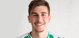 El futbolista de la cantera del Betis, Fran Delgado de Écija, iniciará la temporada con Pellegrini (contiene estadísticas del jugador)
