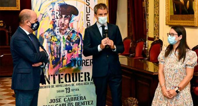 Se presenta en Antequera el Circuito de Novilladas de Andalucía 2020 donde toreará el novillero González-Écija