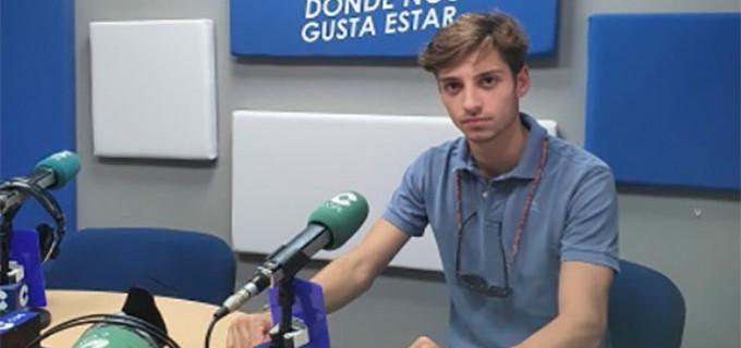 Entrevista al novillero Jaime González Écija en Cadena Cope (audio)