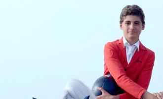 El jinete de Écija, Pablo García Herrainz, obtiene una medalla de broce en el Campeonato de España Juvenil de Saltos 2020