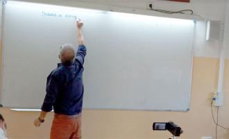 LA ÚLTIMA CLASE DE UN MAESTRO (dedicado a Paco Díaz, Exdirector de la SAFA de Écija)