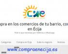 """128 comercios de Écija forman ya parte de la Plataforma """"COMPRAENECIJA"""" en la que presentan sus productos y servicios"""