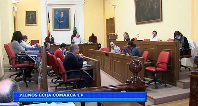Los Plenos del Ayuntamiento de Écija volverán a retransmitirse por Écija Comarca Televisión. Versión 2.0