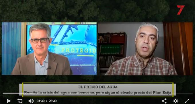 Según un informe de 7TV los Ayuntamientos del Plan Écija pagan la tercera agua más cara de Andalucía y los consumidores, de las más caras de España (vídeo muy interesante)