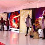 Los Reyes Magos recibieron a los ecijanos en la carpa instalada en el Parque de San Pablo de Écija
