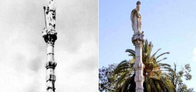25 de enero, conmemoración de San Pablo, Patrón de Écija. Su monumento.