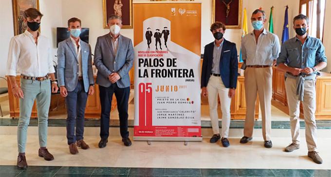 El novillero Jaime González Écija torea en Palos de la Frontera, en el Circuito de Novilladas retransmitido por Canal Sur Televisión