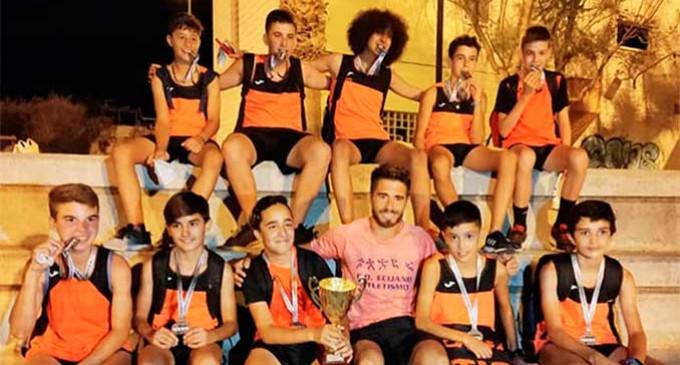 Gran actuación de los atletas de Écija Sub14, que han sido Subcampeones, en los Campeonatos de Andalucía de Clubes