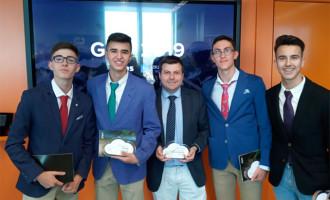 Dos alumnos de las Escuelas Profesionales SA.FA. de Écija seleccionados en el Programa Talento Pro´21