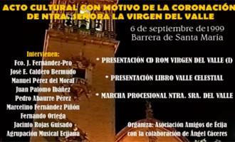 ACTO CULTURAL CON MOTIVO DE LA CORONACIÓN CANÓNICA DE NTRA. SRA. DEL VALLE, CELEBRADO EL 6 DE SEPTIEMBRE DE 1999 (video)