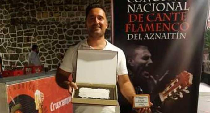 """El Cantaor de Écija, Manuel Gómez Torres, obtiene el primer premio de cante flamenco de Jimena,  """"La breva de Plata"""""""