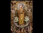 Acto con motivo de la Restauración de la Virgen del Rosario de Écija por la restauradora María del Valle Rodríguez